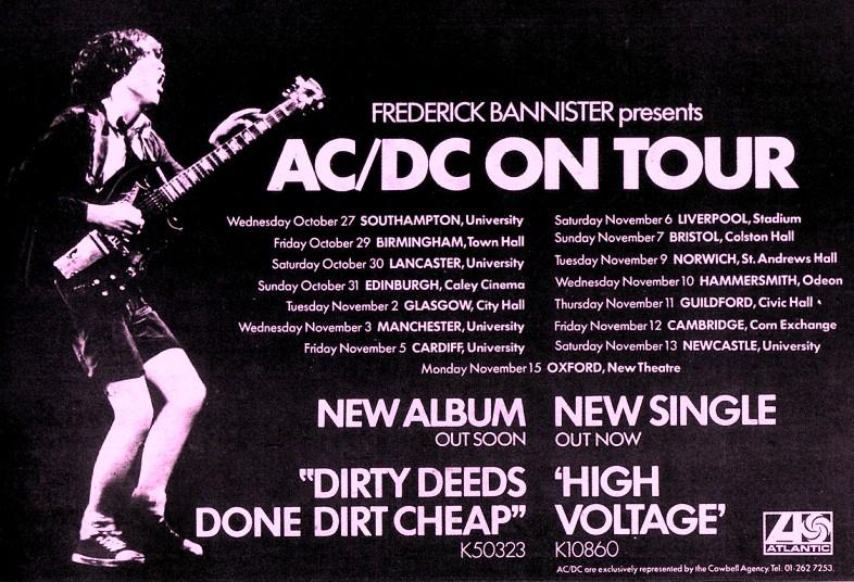 1976 - Dirty deeds done dirt cheap 2dj76m10