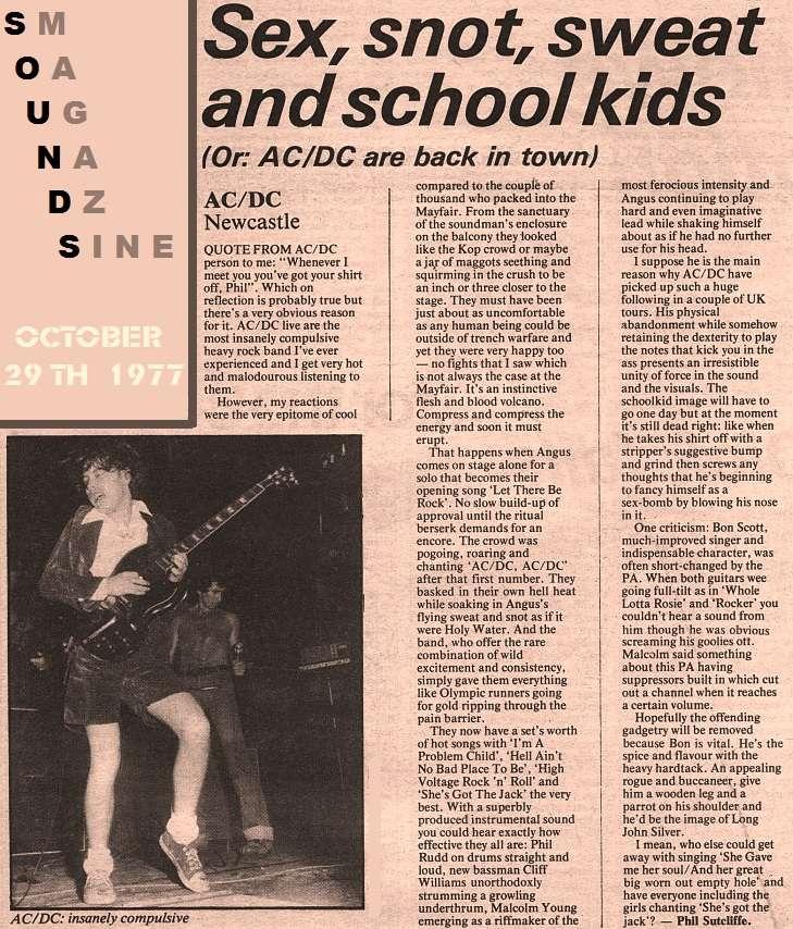1977 / 10 / 29 - Sounds 2dt86k10