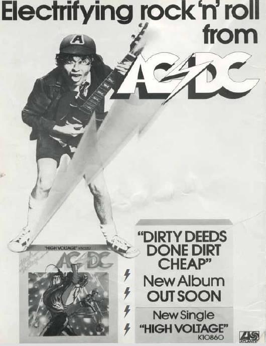 1976 - Dirty deeds done dirt cheap 427