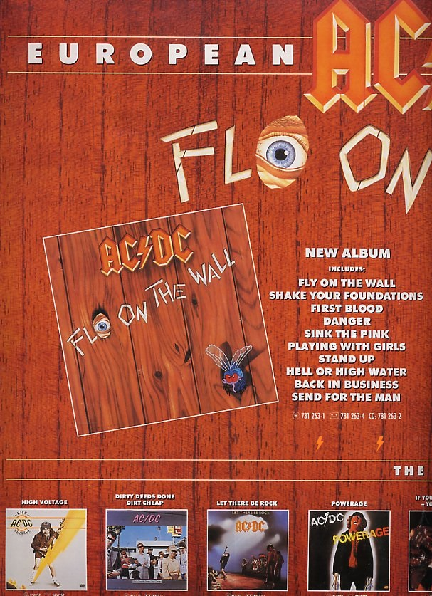 1985 - Fly on the wall 431