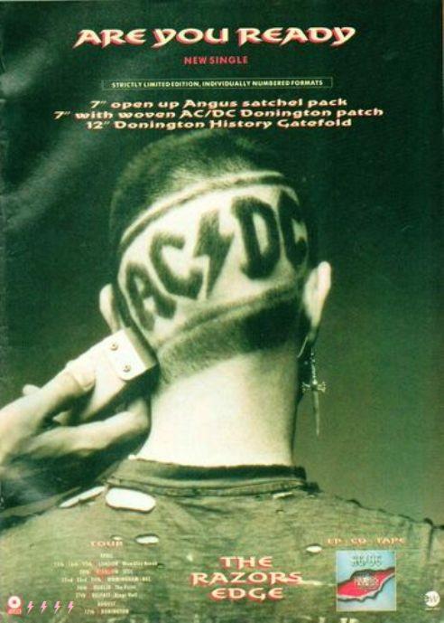 1990 - The razors edge 432