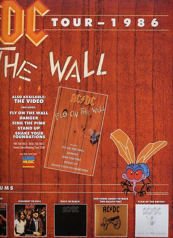 1985 - Fly on the wall 525