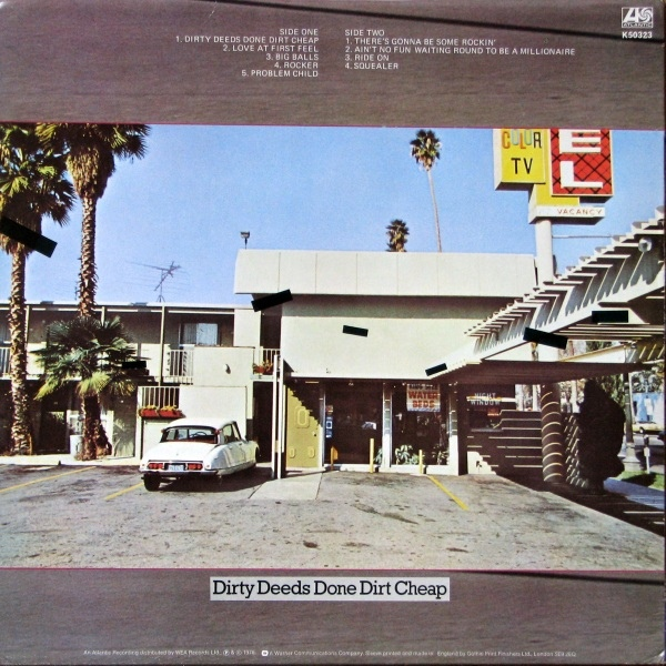 1976 - Dirty deeds done dirt cheap R-773311