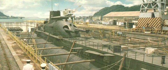 Le sous-marin Surcouf en 1938 . B6d14d11