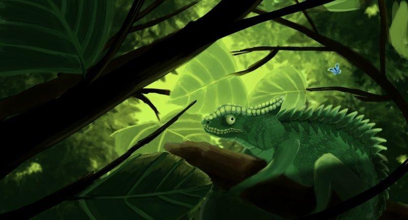 Les gribouilles d'Atna: objectif landscape et persos - Page 2 Camelo13