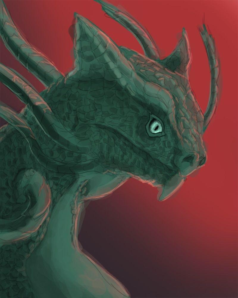 Les gribouilles d'Atna: objectif landscape et persos - Page 2 Dragon10