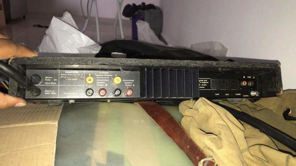 Integrated amplifier Creek CAS4040 Made in UK Whatsa11