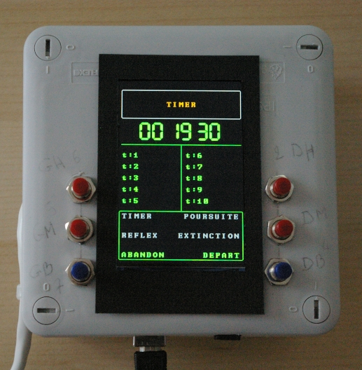 Projet Cible électronique de Newad Jeu_ti10