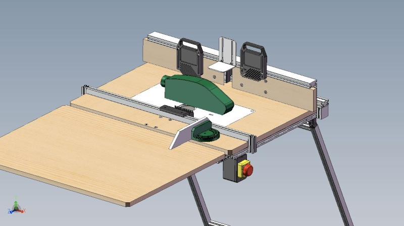 Electro-portatifs sous table (d'inspiration Festool, Woodpeckers, Wolfcraft...) et aménagements atelier  Ensemb10