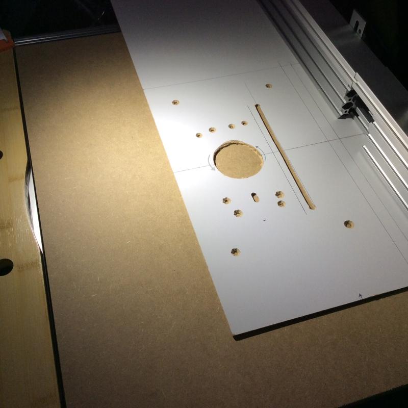 Electro-portatifs sous table (d'inspiration Festool, Woodpeckers, Wolfcraft...) et aménagements atelier  Img_0019