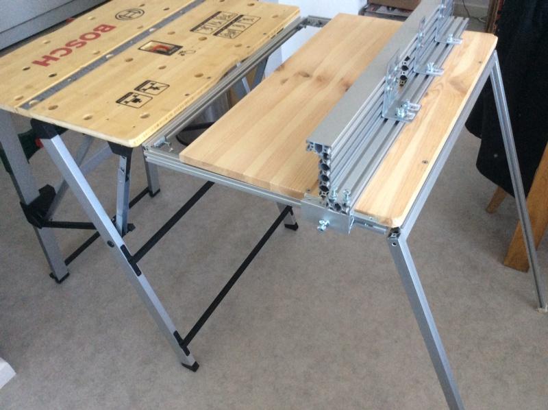Electro-portatifs sous table (d'inspiration Festool, Woodpeckers, Wolfcraft...) et aménagements atelier  Img_0027