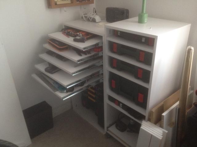 Electro-portatifs sous table (d'inspiration Festool, Woodpeckers, Wolfcraft...) et aménagements atelier  - Page 2 Rack_210
