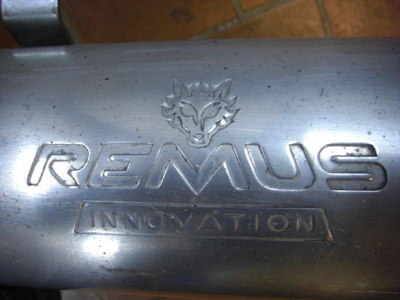 BMW K1200RS & K1200GT Remus Innovation full stainless exhaust system for sale £175 in the UK. Cimg2310