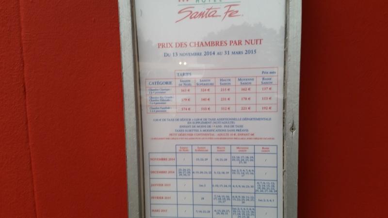 Prezzi delle camere e delle suite degli Hotel 20150312