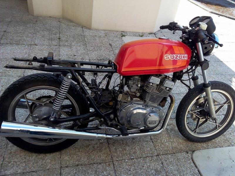 Suz'kiki 250 GSX - Cafe Racer 11129910