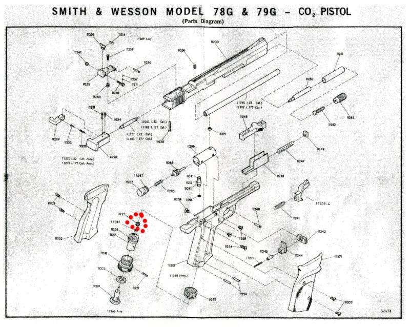 Restauration Smith & Wesson 79g - Page 3 Parts_22