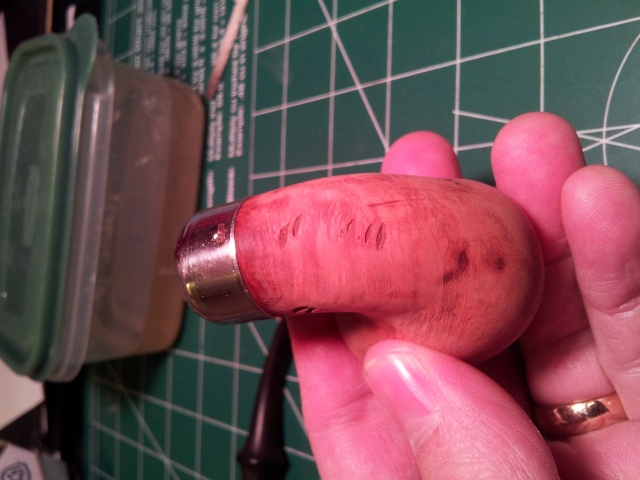 An Exercise in DIY Rustication with Dremel 20150421