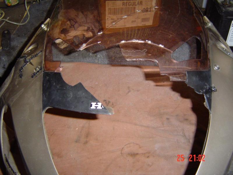 Morceaux de tete de fourche de deauville 650 Dsc04723