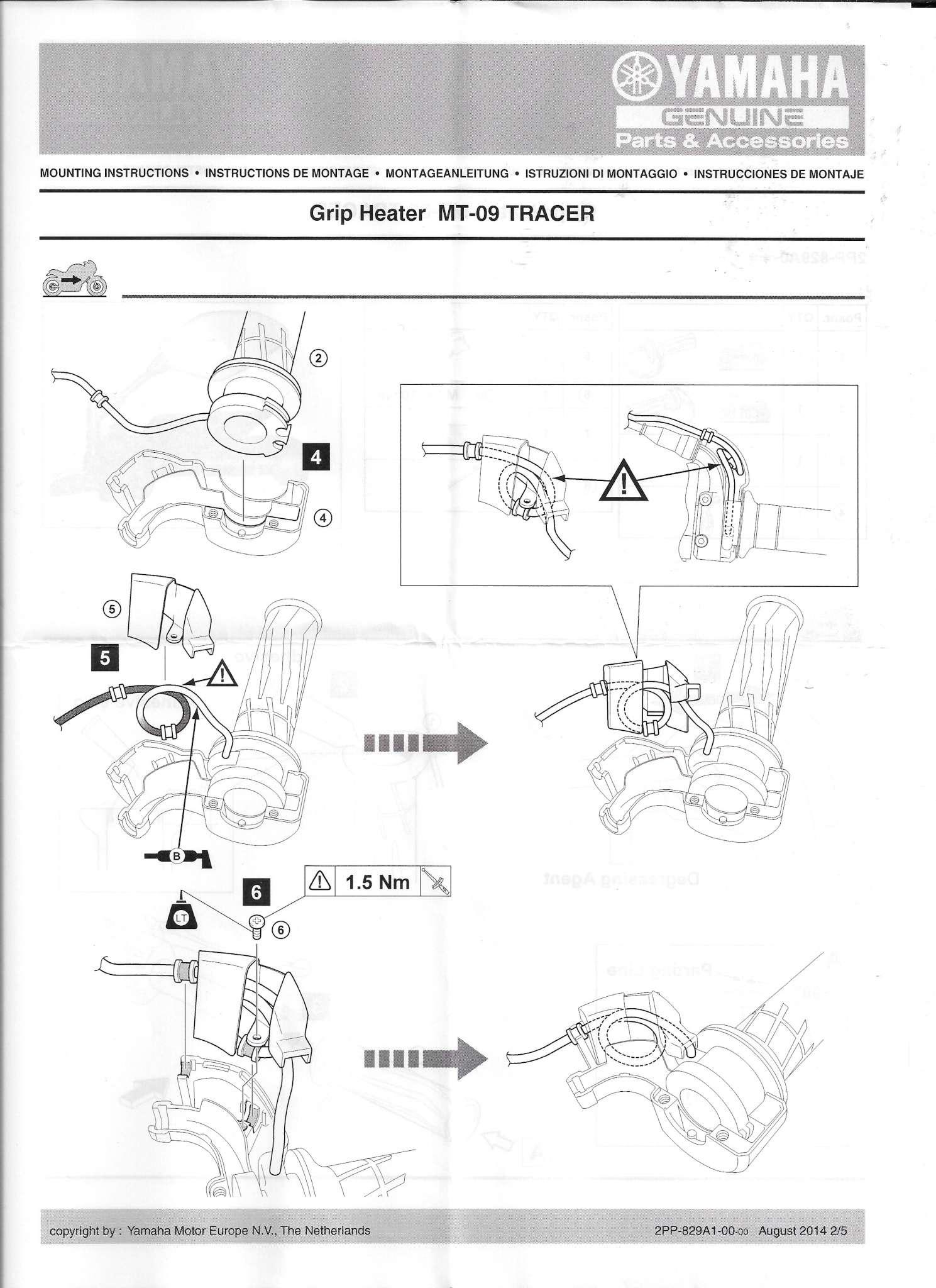 Poignées chauffantes Yamaha Tracer - Page 3 Yamaha11