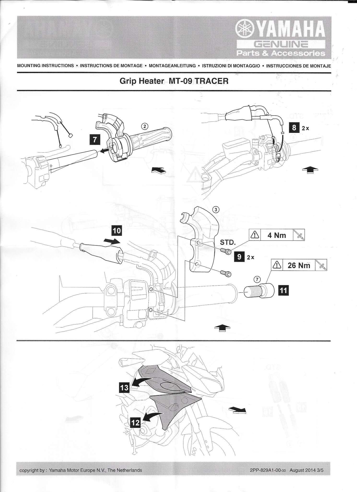 Poignées chauffantes Yamaha Tracer - Page 3 Yamaha12