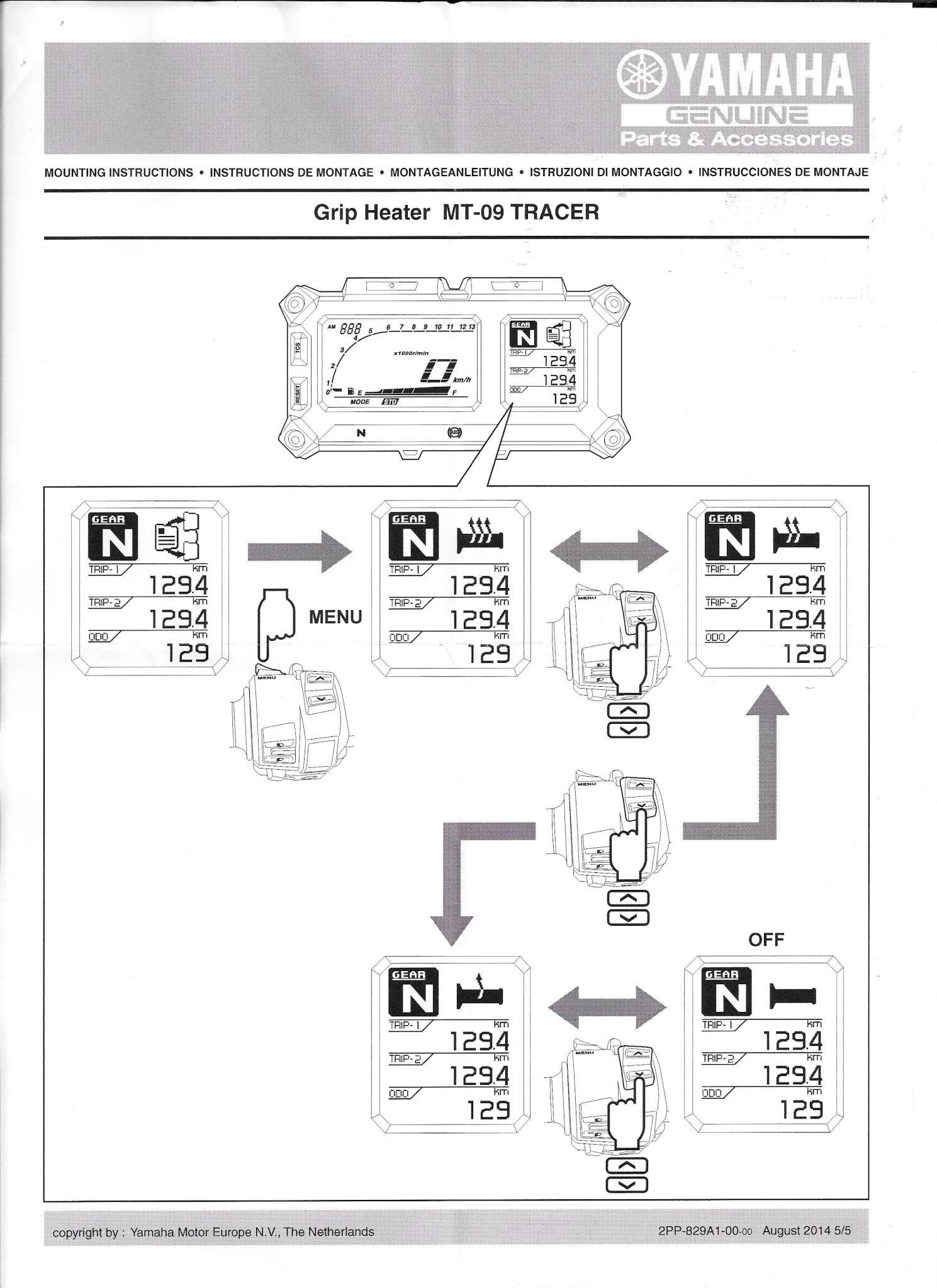 Poignées chauffantes Yamaha Tracer - Page 3 Yamaha14