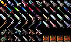 Icones de plusieurs armes Edited10