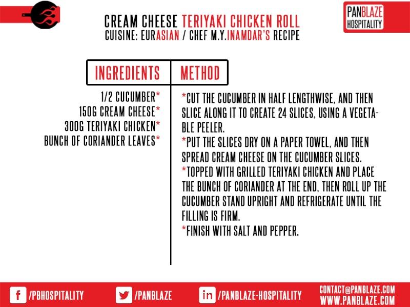 Cream Cheese Teriyaki Chicken Roll Cream_10