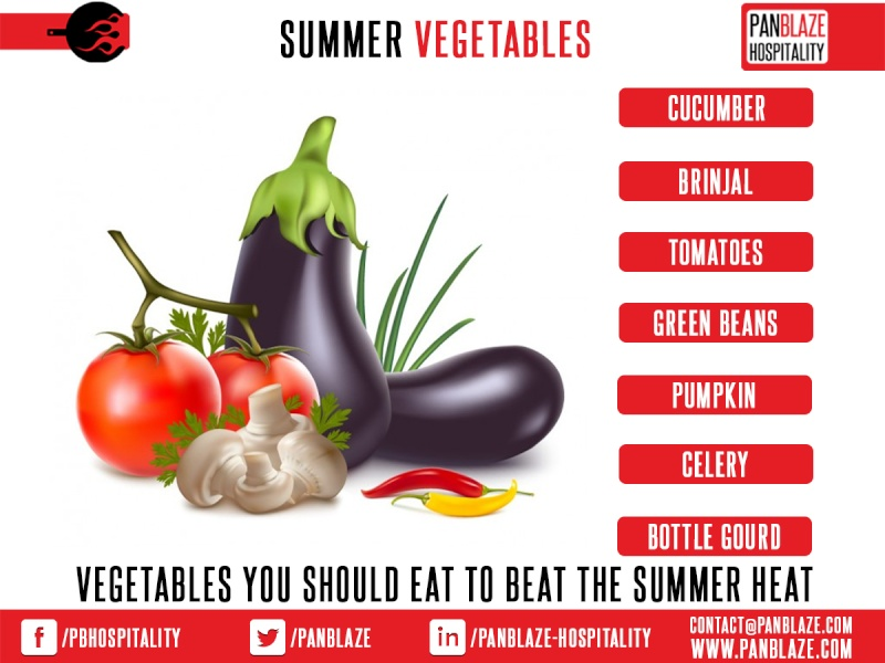 Vegetables you should eat to beat the summer heat Summer10