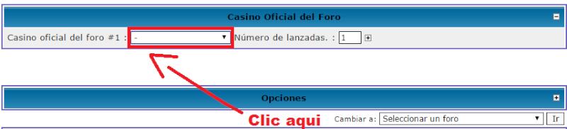El Casino Oficial del Foro abre sus puertas Lolo10