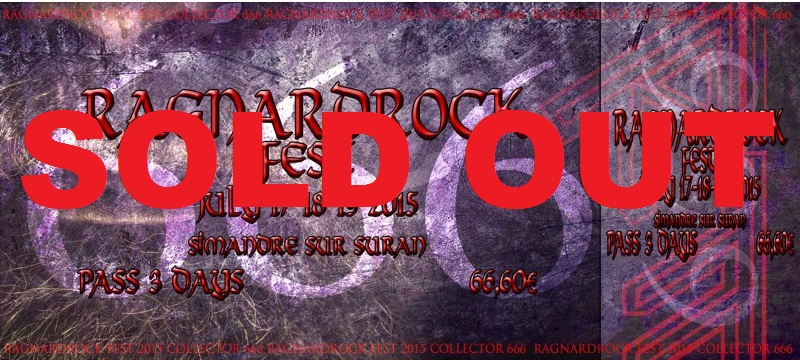ANNONCE BILLETTERIE/ PASS 666 COLLECTOR SOLD OUT 38-thi10