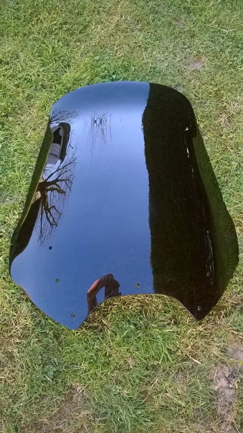 Bulle haute Ermax teinté noire clair Wp_20128