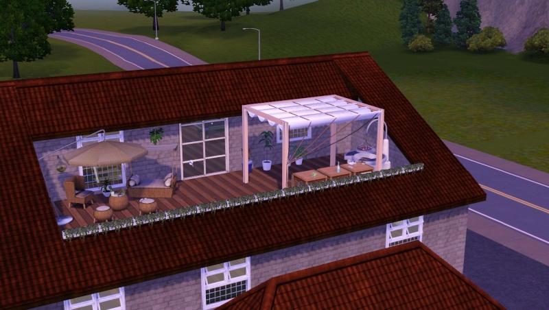 [Apprenti] Créer une terrasse dans une toiture classique E10