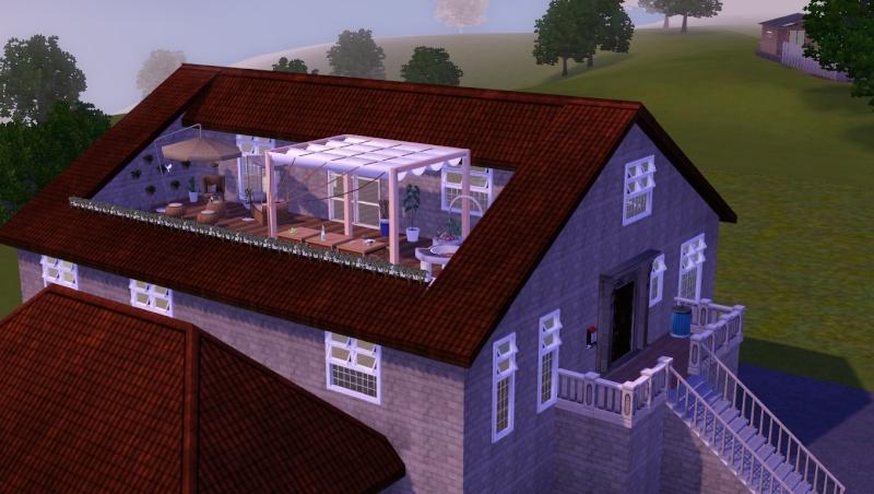 [Apprenti] Créer une terrasse dans une toiture classique G10