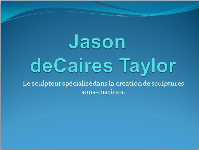 Jason deCaires Taylor J110