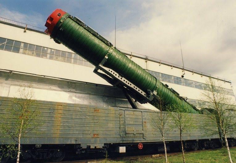 "BZhRK ""Barguzin"" railway ICBM 11174810"