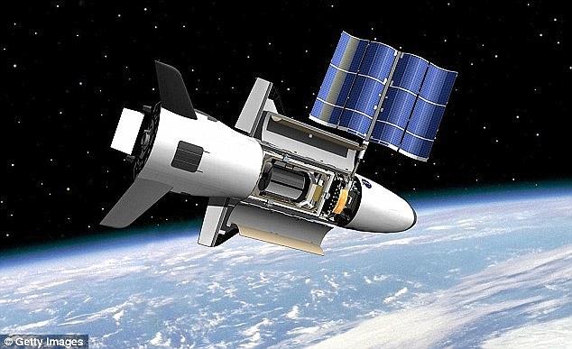 X-37B Military Spaceplane 14138211