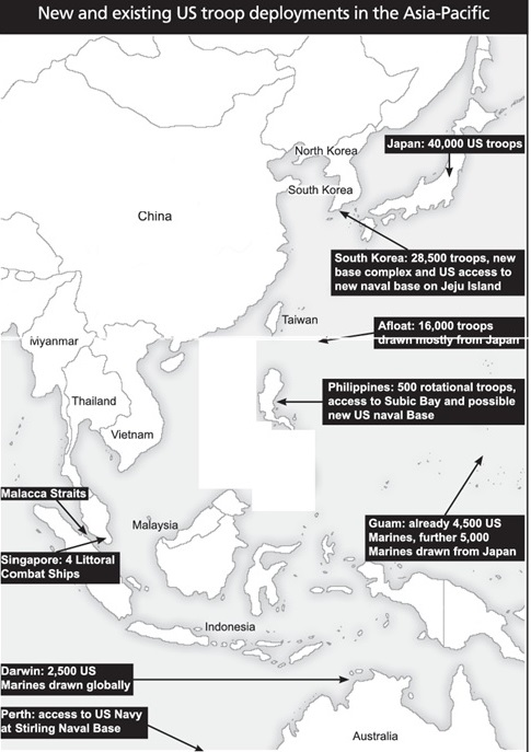 U.S Military encirclement of China - Page 2 6a01a510