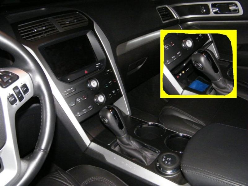 Emplacement du contrôleur de freins Dash-110