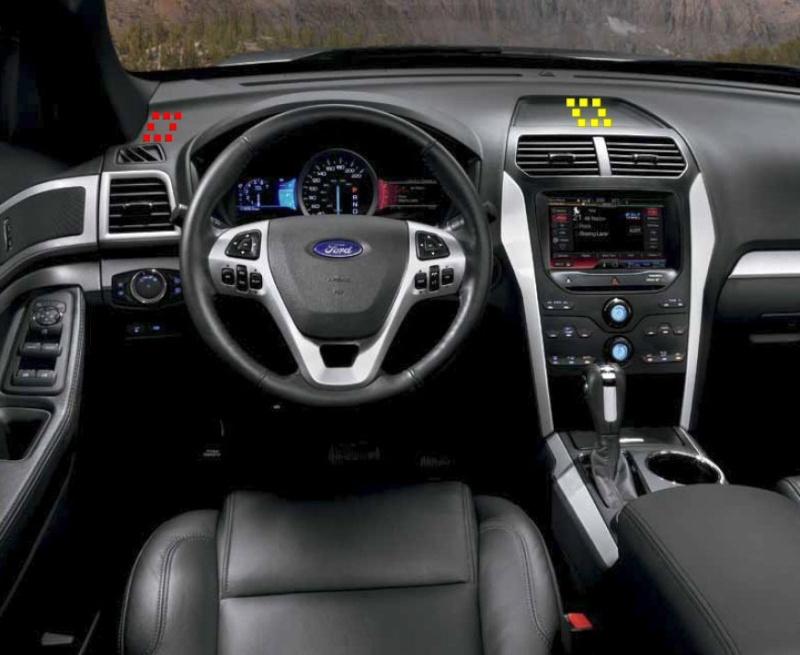 Emplacement du contrôleur de freins Dash-310
