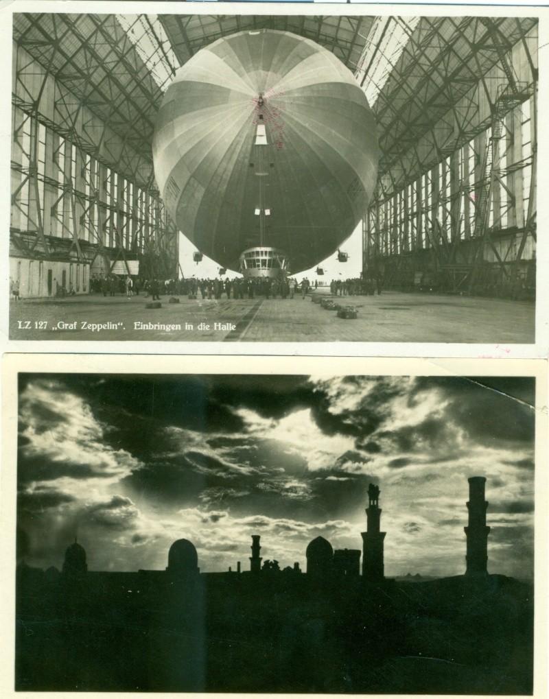 Zeppelin LZ 127 + Hindenburg Scanne30