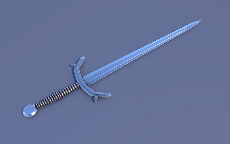 speed modeling épée (improvisation) Img_c410