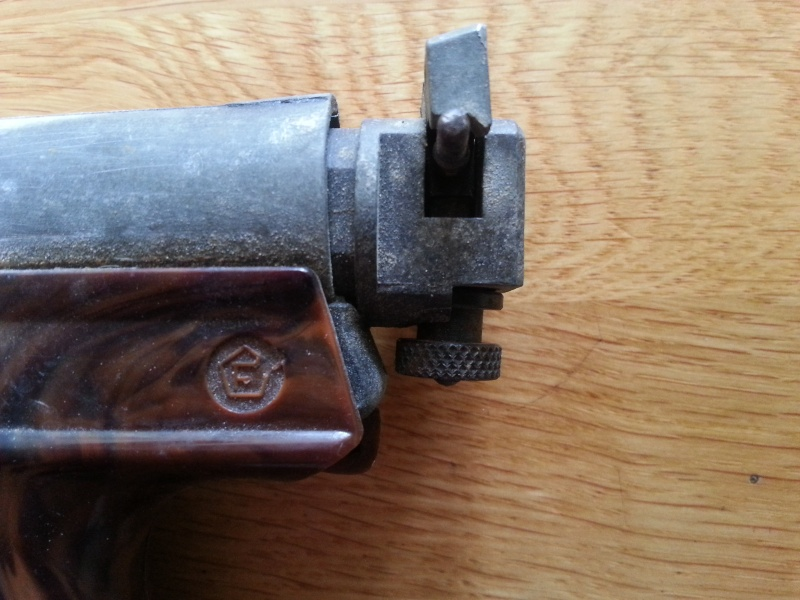 Pistolet plombs 30 ans environ FB RECORD. 410