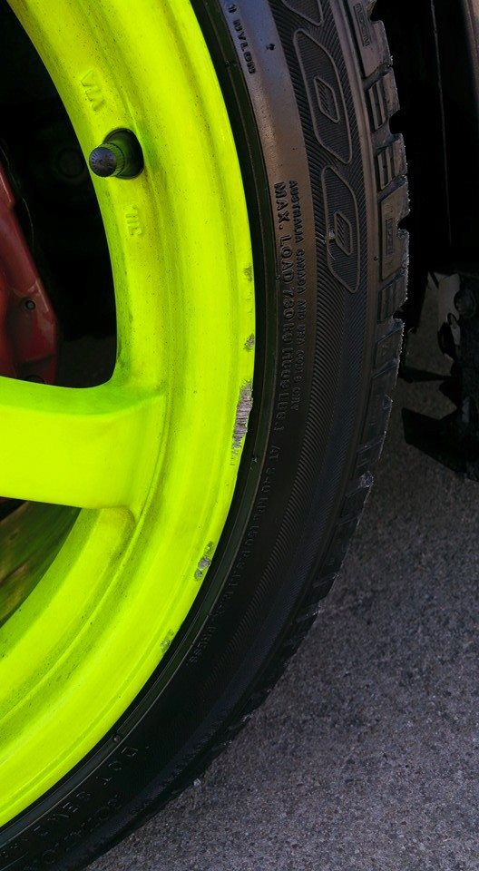 FS: 18x9.5 Gram Light 57DRs +22et/Nexen 265/35/18 tires 10155011