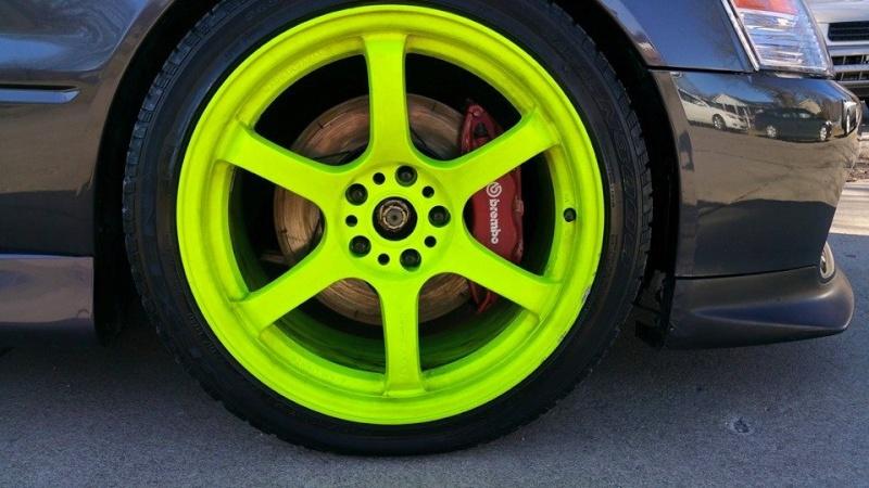 FS: 18x9.5 Gram Light 57DRs +22et/Nexen 265/35/18 tires 10420711