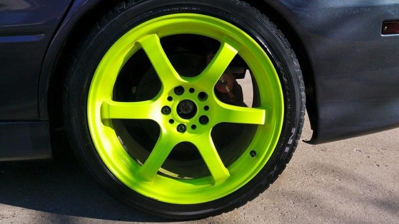 FS: 18x9.5 Gram Light 57DRs +22et/Nexen 265/35/18 tires 10922610