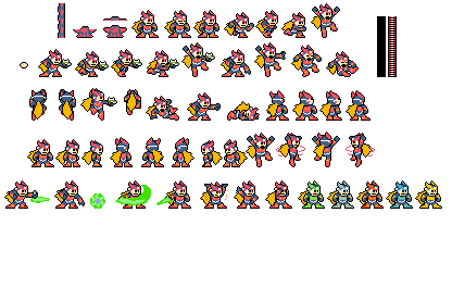 Sprite Sheet of my CHaracter Dopple10