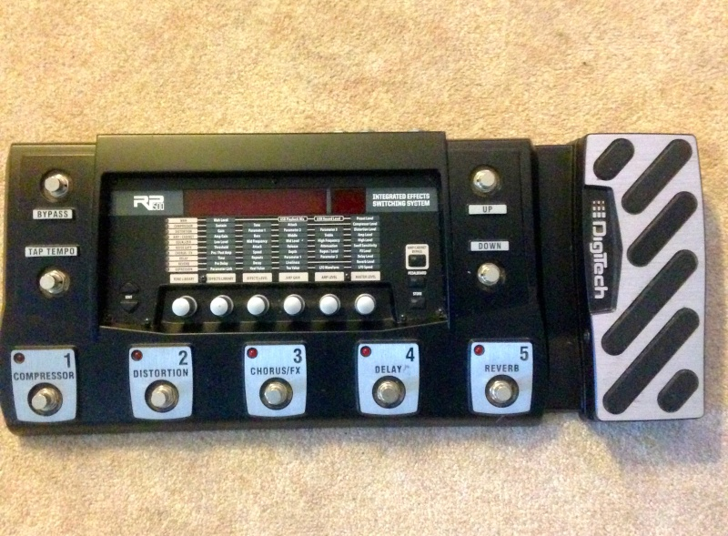 DigiTech RP500 Guitar Multi-Effects Switching System & USB Recording Interface Digite14