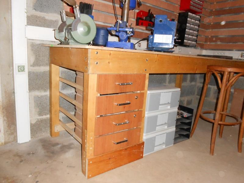 Debut de réorganisation de mon atelier 213