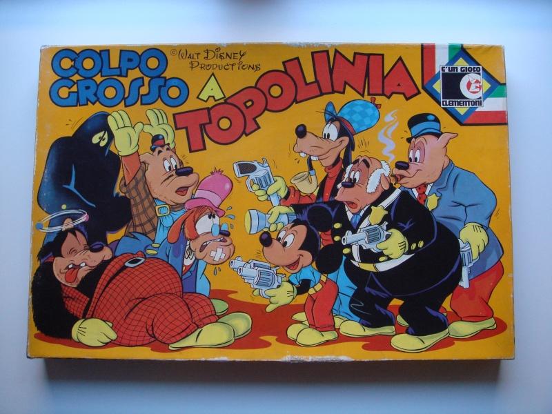 """Vendo gioco """"Colpo grosso a Topolinia""""  Topoli10"""