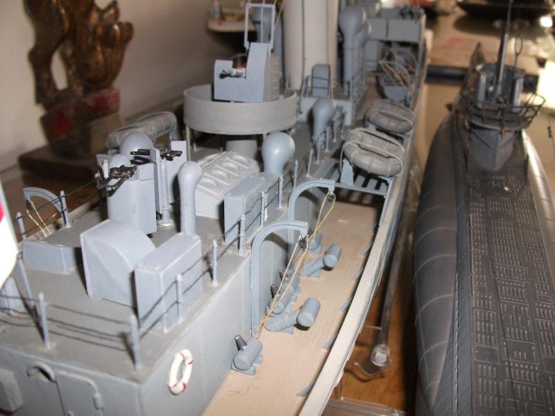corvette - Corvette et U Boot   1/72 Revell Dscf0819